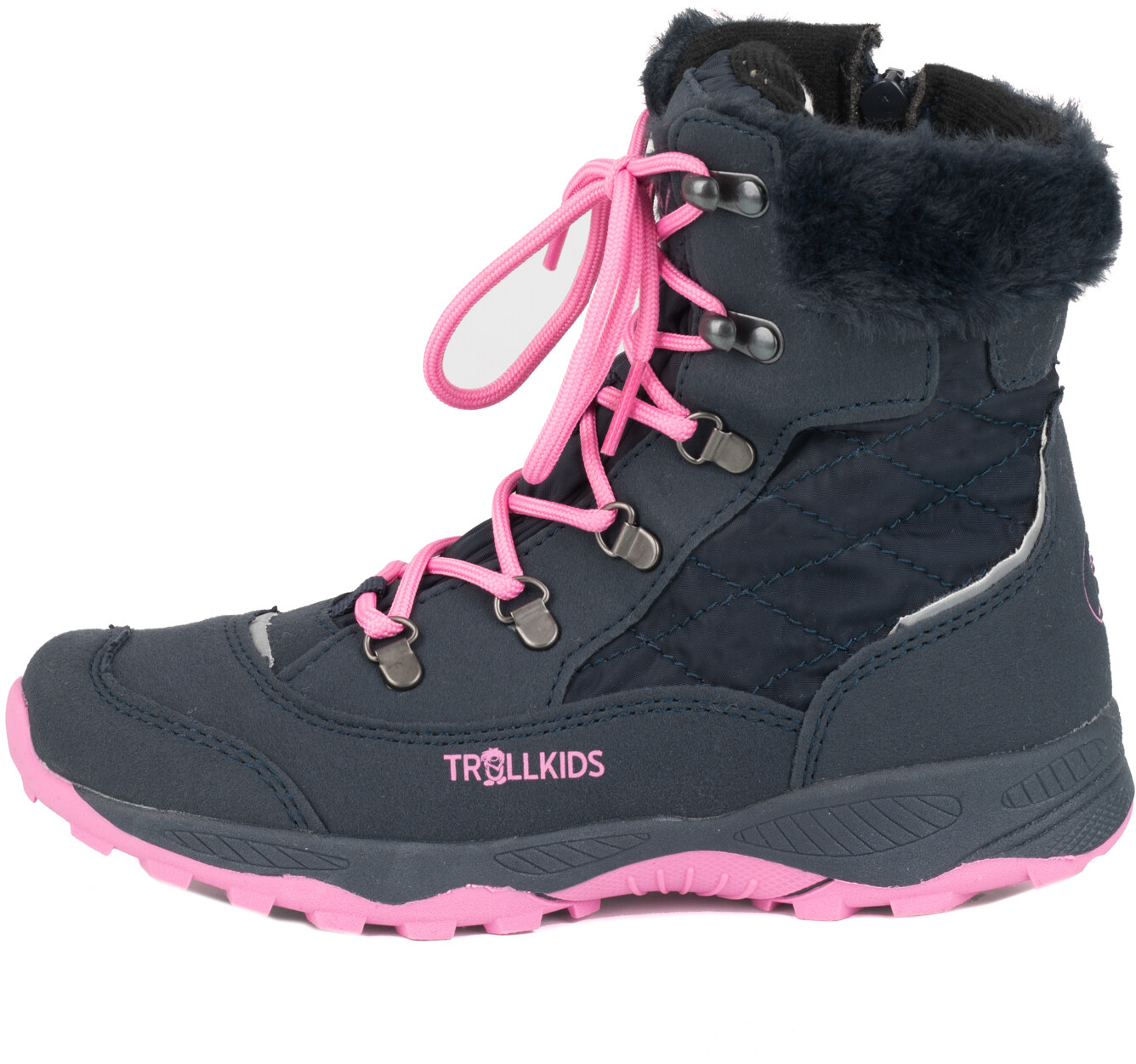 TROLLKIDS Hemsedal Winter Boots Meisjes, navymagenta